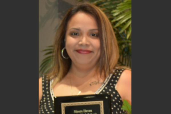 Congratulations to Angelica Cano - 2019 Non-Instructional Employee of the Year